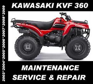 Kawasaki-KVF360-KVF-360-ATV-Quad-Service-Maintenance-Repair-Rebuild-Manual