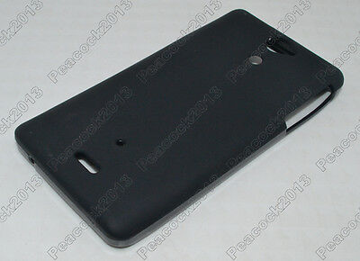 Black Matting TPU Silicone CASE Cover For Sony Xperia V LT25i