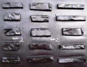#ODF-02 - 15 CONCRETE DRYSTACK VENEER MOLDS MAKE 1000s OF STONES FOR PENNIES EA