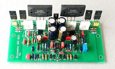 One pair Assembled amplifier board base on Burmester 933 amplifier board  -sn