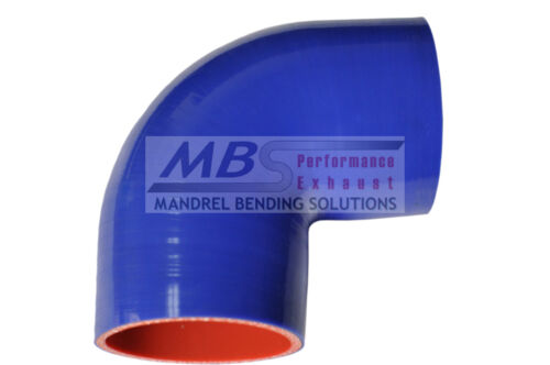"""SILICONE ELBOW COUPLER 90 DEGREE 1 5//8/"""" 1.625/"""" BLUE 5 PLY HOSE INTAKE TURBO MBS"""