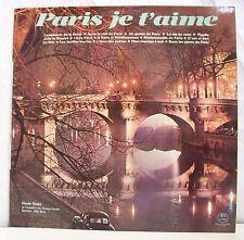 """33T CLAUDE ROYAN Orch. CHAMPS ELYSEES Disque LP 12"""" PARIS JE T'AIME - GID 54993"""