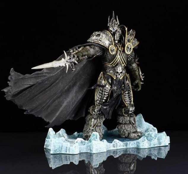 World of Warcraft WoW Arthas Menethil Lich King Deluxe Action Figure Figure