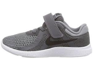 efca20e20eab0 Nike Toddler s Revolution 4 (TDV) Running Shoes 943304 005 Dark Grey ...