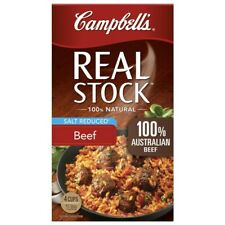 Campbell's Real Salt Reduced Beef Stock 1L