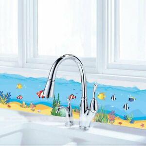 Details zu Fische Wandtattoo Wandsticker Premium Badezimmer Aquarium Meer  Meerestiere Neu