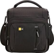 Case Logic Nylon DSLR Shoulder Bag for SLR Digital Camera - Black TBC-409 New Uk