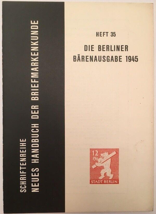 9848] Steinbock, G., Berliner Auslands - Luftpost 1948-1954, gebraucht