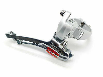 New Shimano Sora FD-3400 9 Speed 34.9mm Clamp-On Front Derailleur Silver