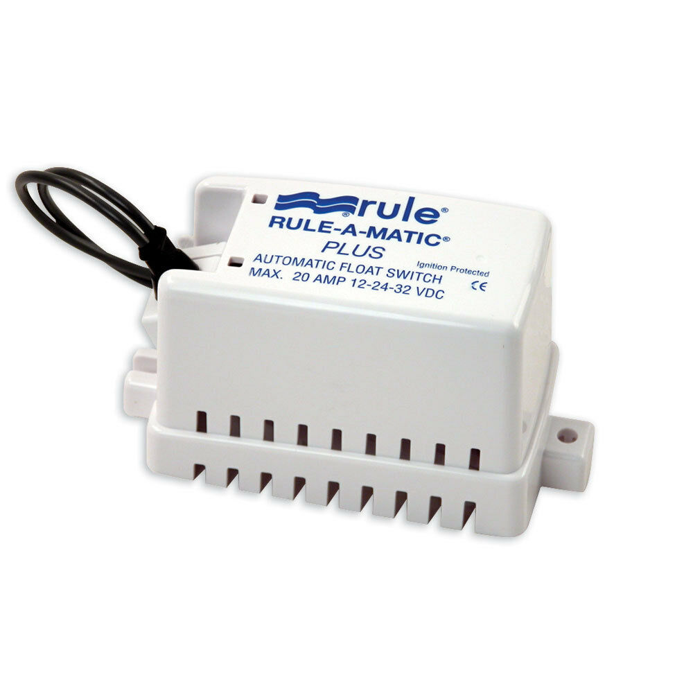 Rule Rule-A-Matic  Plus Float Switch w Fuse Holder