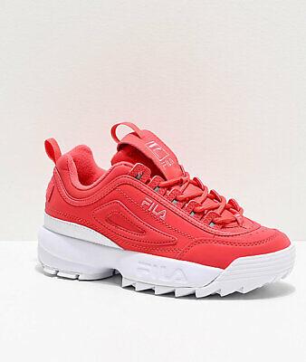 fila disruptor ii premium light pink shoes