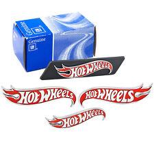 2013 Chevy Camaro Hot Wheels Dub Edition 4pc Emblem Set - Grille Fenders & Trunk
