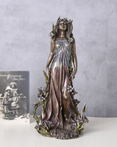 Frauenfigur-Jugendstil-Alfons-Mucha-Nymphe-Veronese-Figur-Belle-Epoque-Statue
