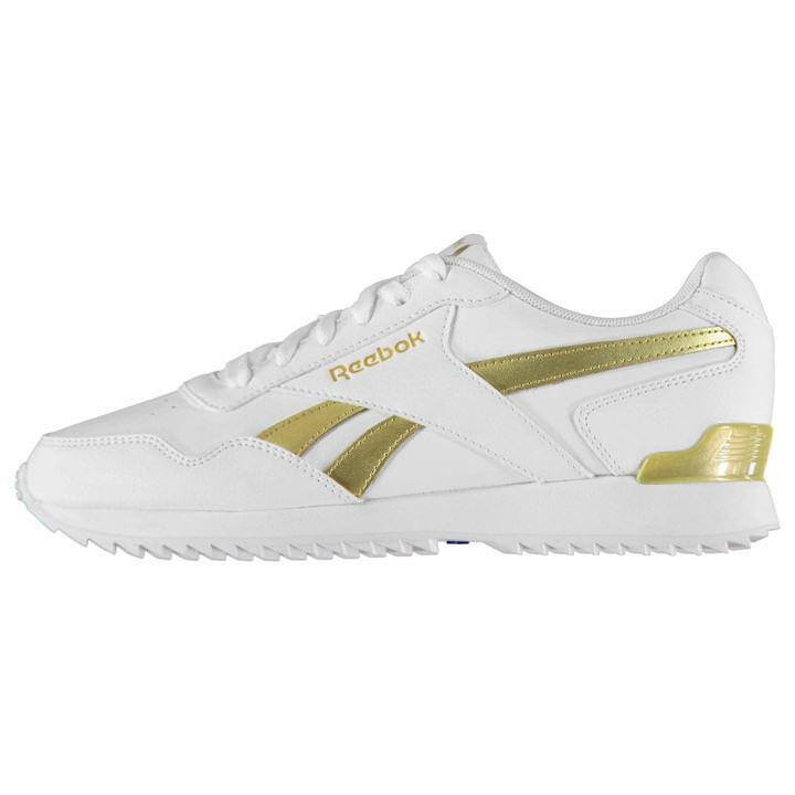 Reebok Royal Glide Riffel Clip Damen Damen Damen UK 7 Us 9.5 Eu 40.5 Cm 26.5 2156-  | Attraktive Mode