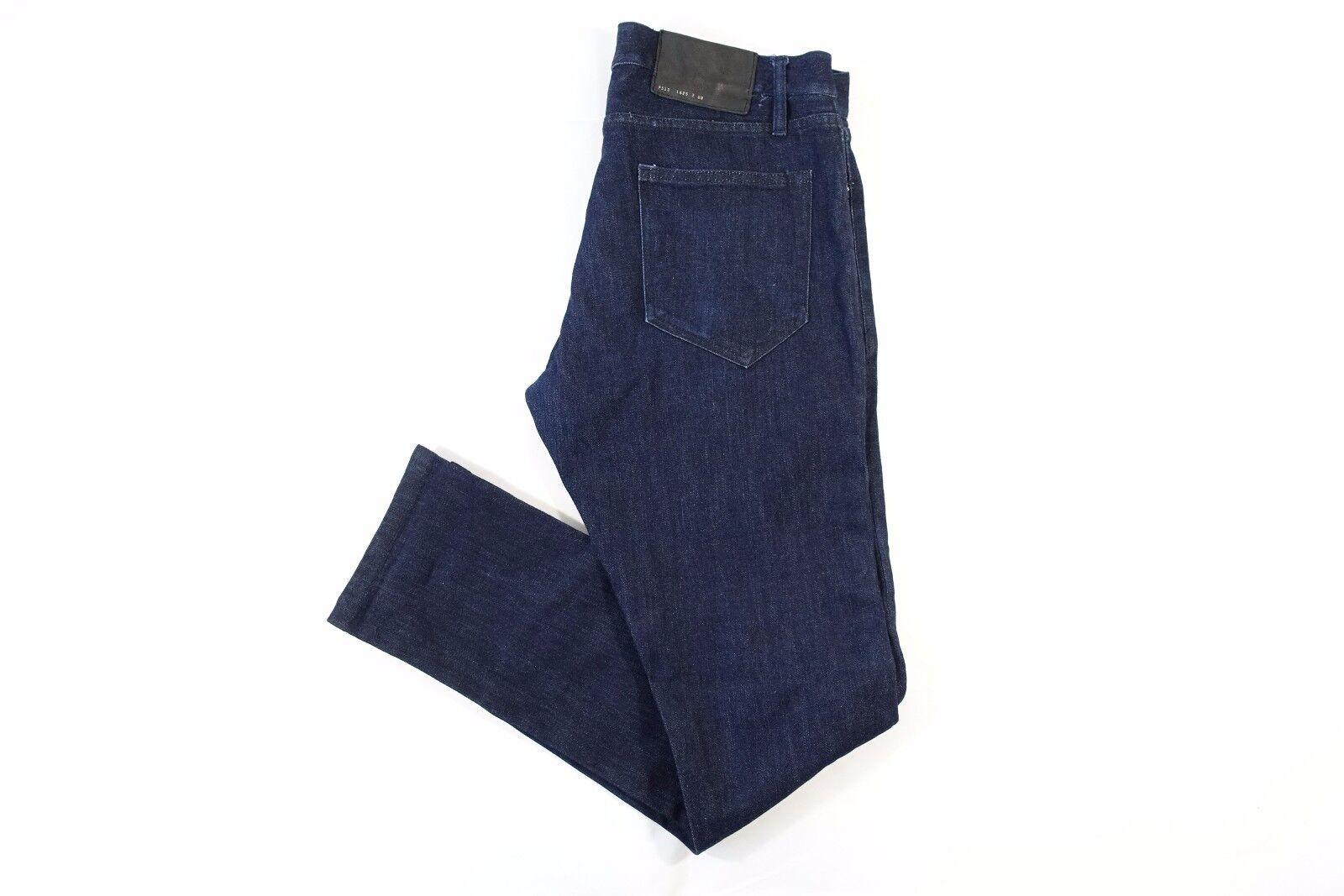 Public School Hergestellt in New York USA Dunkelblau 32 Slim Fit Jeans Herren