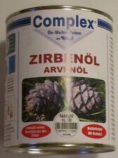 Zirbenöl Zirbe Holzschutz Drechseln Schnitzen Oberflächenschutz Holzschutz