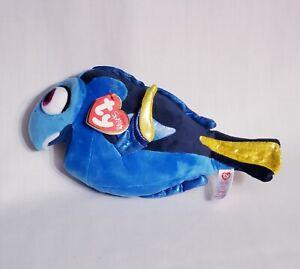New-TY-Sparkle-Disney-Finding-Dory-Blue-Fish-Beanie-Plush-9-034-Stuffed-Animal-Nemo