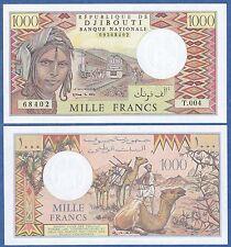 Djibouti 1000 Francs ND (1979-1988) P 37e UNC Low Shipping Combine FREE (P-37 e)