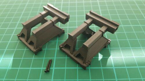 OO Gauge Buffer Stop-Custom 3D printed Eurostar Two-pack 2. St Pancras style