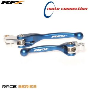 RFX-FLEXIBLE-BRAKE-amp-CLUTCH-LEVER-SET-BLUE-YAMAHA-YZ125-YZ250-2018-FXFL40100