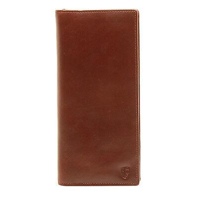 Underwood & Tanner - Large Tan Travel Organiser/Wallet in Full Grain Leather