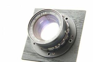 Excellent++ ILEX Process Paragon 10 1/2 Inch F8 Large Format Lens #1636