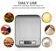 miniatura 3 - BILANCIA DA CUCINA DIGITALE LCD acciaio inox alimenti tara 1g-5Kg elettronica ✅