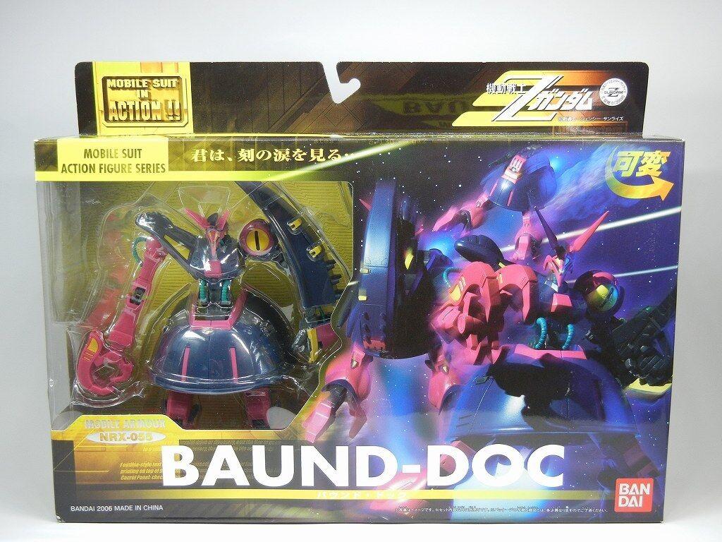 MSIA  Mobile Suit Zeta Gundam  NRX-055 BAUND-DOC  azione cifra Beai   Z Gundam  economico e di alta qualità