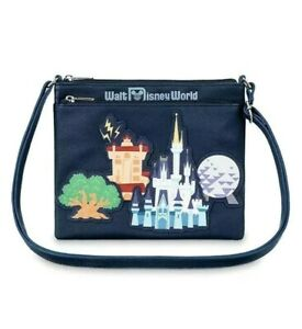 Details about NEW WITH TAGS Disney Parks Park Life Walt Disney World Crossbody Bag