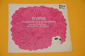 7-034-45-NO-LP-SOLAMENTE-CUBIERTA-SENZA-DISCO-MINA-MENTIROSO-E-IMPRUDENTE-EX