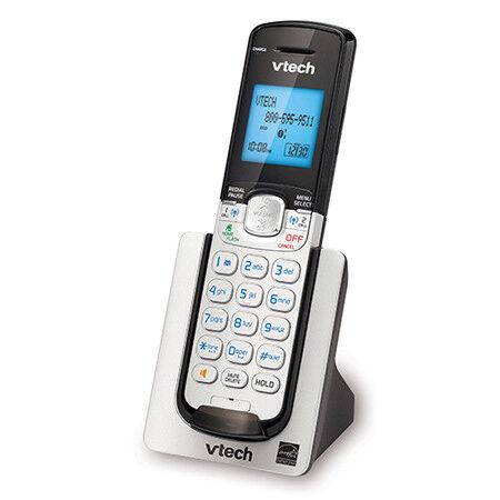 Additional Handset W// Backlit Keypad /& LCD Display Vtech DS6071 3 Pack