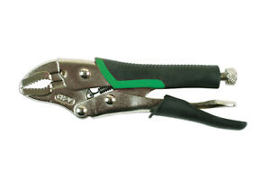 Kamasa-56139-Curved-Jaw-Locking-Pliers-125mm-With-TPR-Soft-Grip-Handle