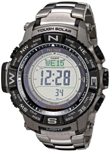Casio Pro Trek Tough Solar Digital Sport Watch PRW3500T-7