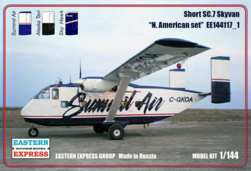 Eastern Express 1  144 Short SC -7 Skyvan North American Set 144117 u 1