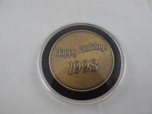 Cast Member 1998 Happy Holiday Medallion