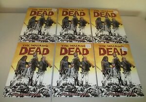 Details About The Walking Dead Coloring Book Wholesale Lot Of 6 Image Softcover Tpb