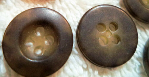 "1 gross 144 1//2/"" 20 line CARIBOU CAMOFLAUGE Buttons USA Button Co High Quality"