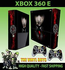 XBOX 360 E ALUCARD HELLSING CALM 001 VAMPIRE STICKER SKIN & 2 PAD SKIN