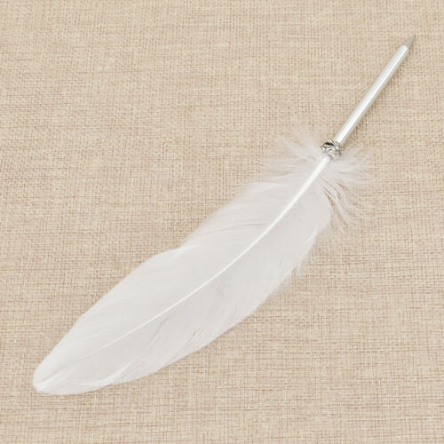 Novelty Wing Feather Gel Pen Ballpoint Pen Students Writing Stationery Gift