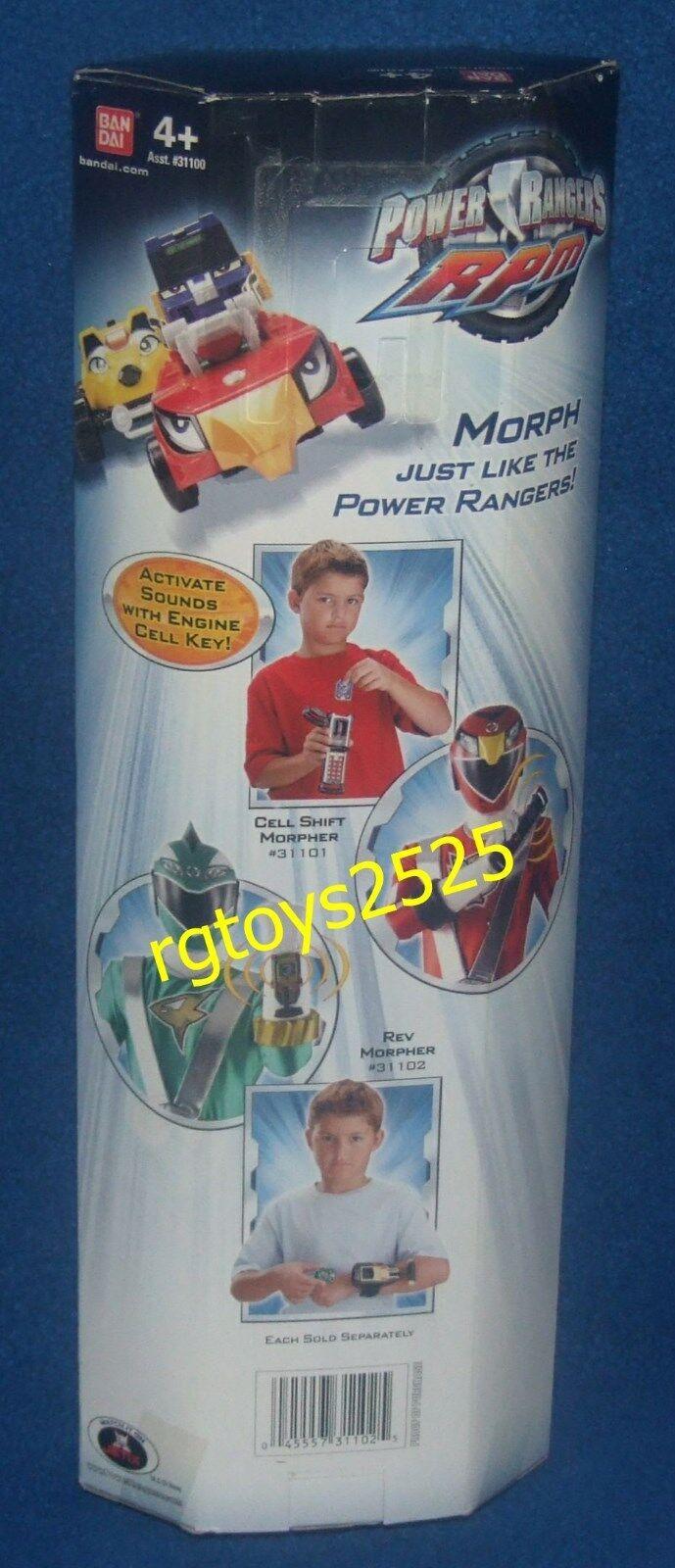 Power Rangers RPM REV MORPHER New Factory Sealed w sounds sounds sounds 2009 de6b12
