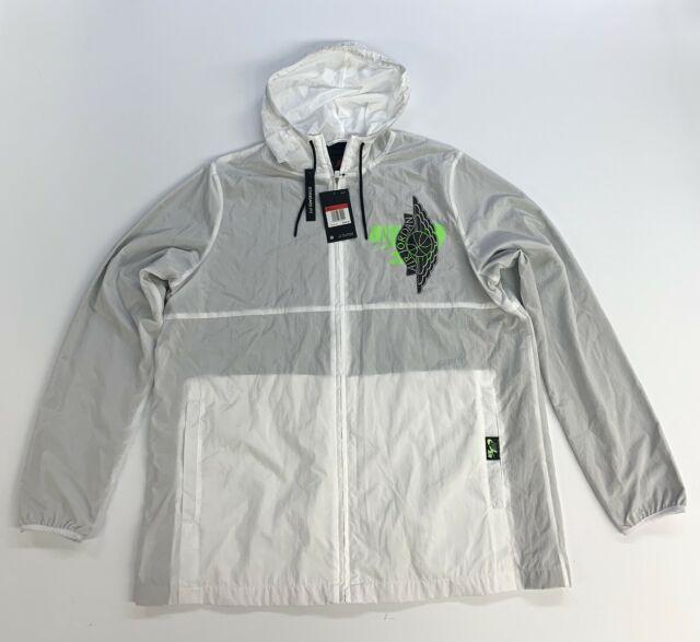 Nike Air Jordan Men's Jumpman Wings Classics Jacket BQ8476-100 White Size Large