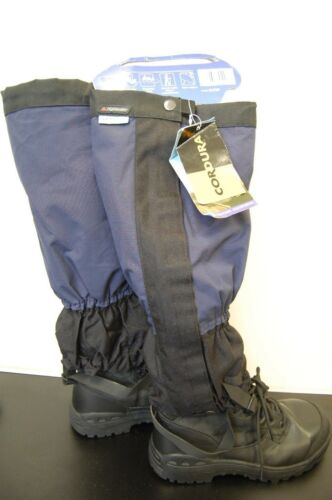Navy//Black Two Tone Camping Hiking Brand New Highlander Mountain Gaiters