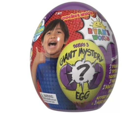 Mini Egg Series 2 NEW Super Ryan's World Giant Mystery Series 3 Egg Surprise