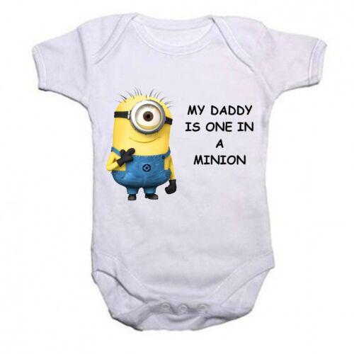 My Daddy Ist One In A Minion Lustig Baby Strampler Body Strampler Geschenk