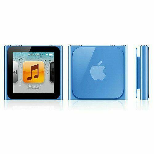 Apple Ipod Nano 6th Generation Blue 8gb For Sale Online Ebay