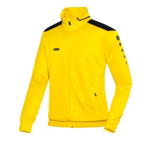 Jako Trainingsjacke Cup Kinder citro-schwarz Sportjacke gelb schwarz