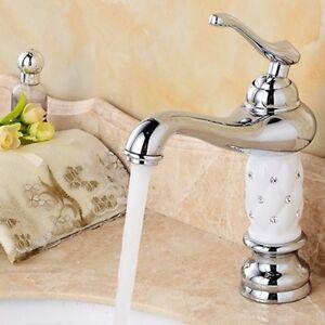 Retro-Einhebelmischer-Wasserhahn-Mischbatterie-Waschbecken-Kueche-Bad-Armatur-DE