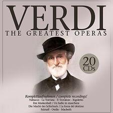 CD Verdi the greatest soap 20cds di Verdi con Maria Callas, Herbert v Karajan