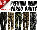 New Men's Premium Casual Military Army Camouflage Camo Cargo Combat Work Pants