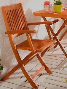 Linus Klappstuhl Klappsessel Holzstuhl Balkon Garten Veranda Pavilion Funktion Ebay